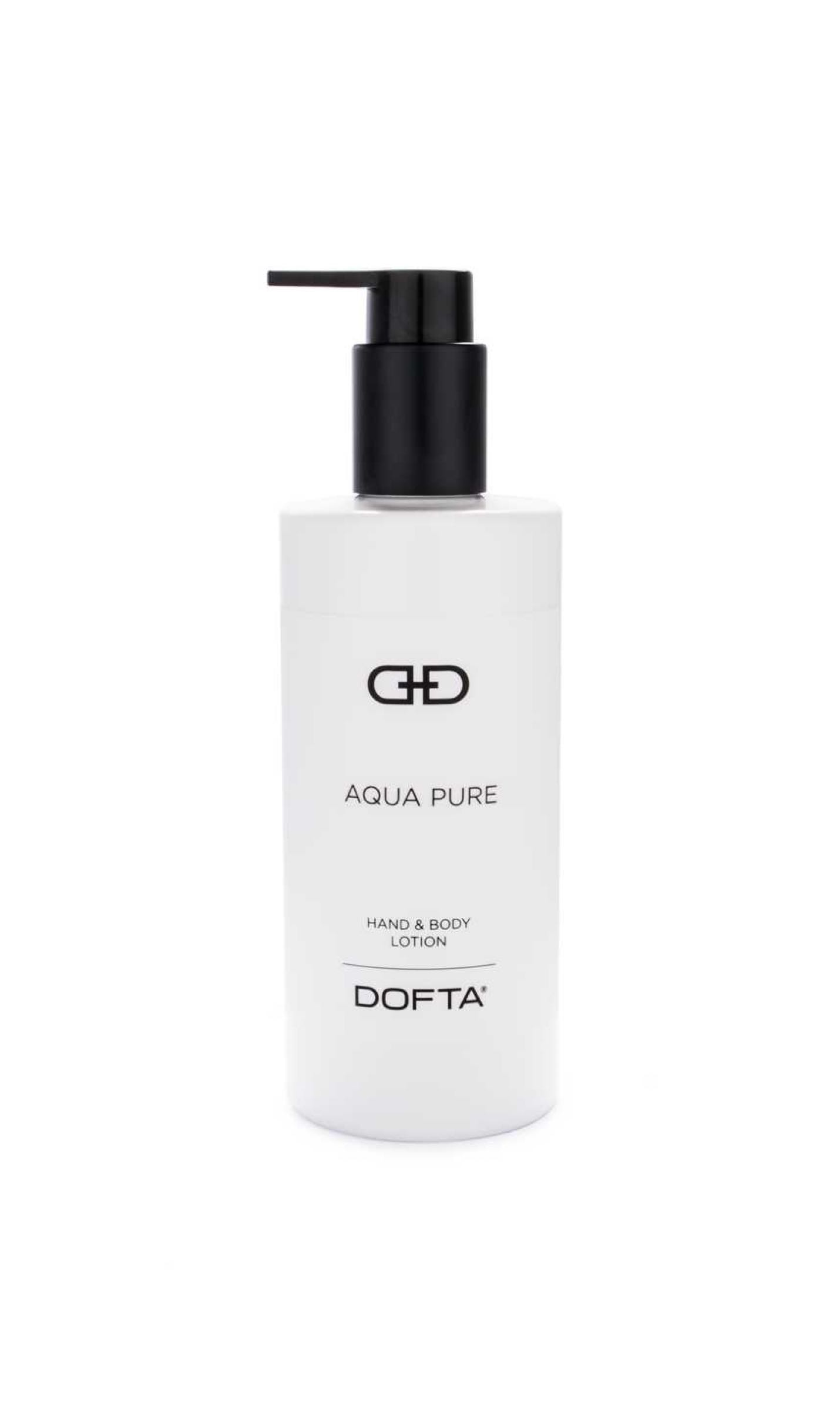 DOFTA Black & White - Hand & Body Lotion - Aqua Pure