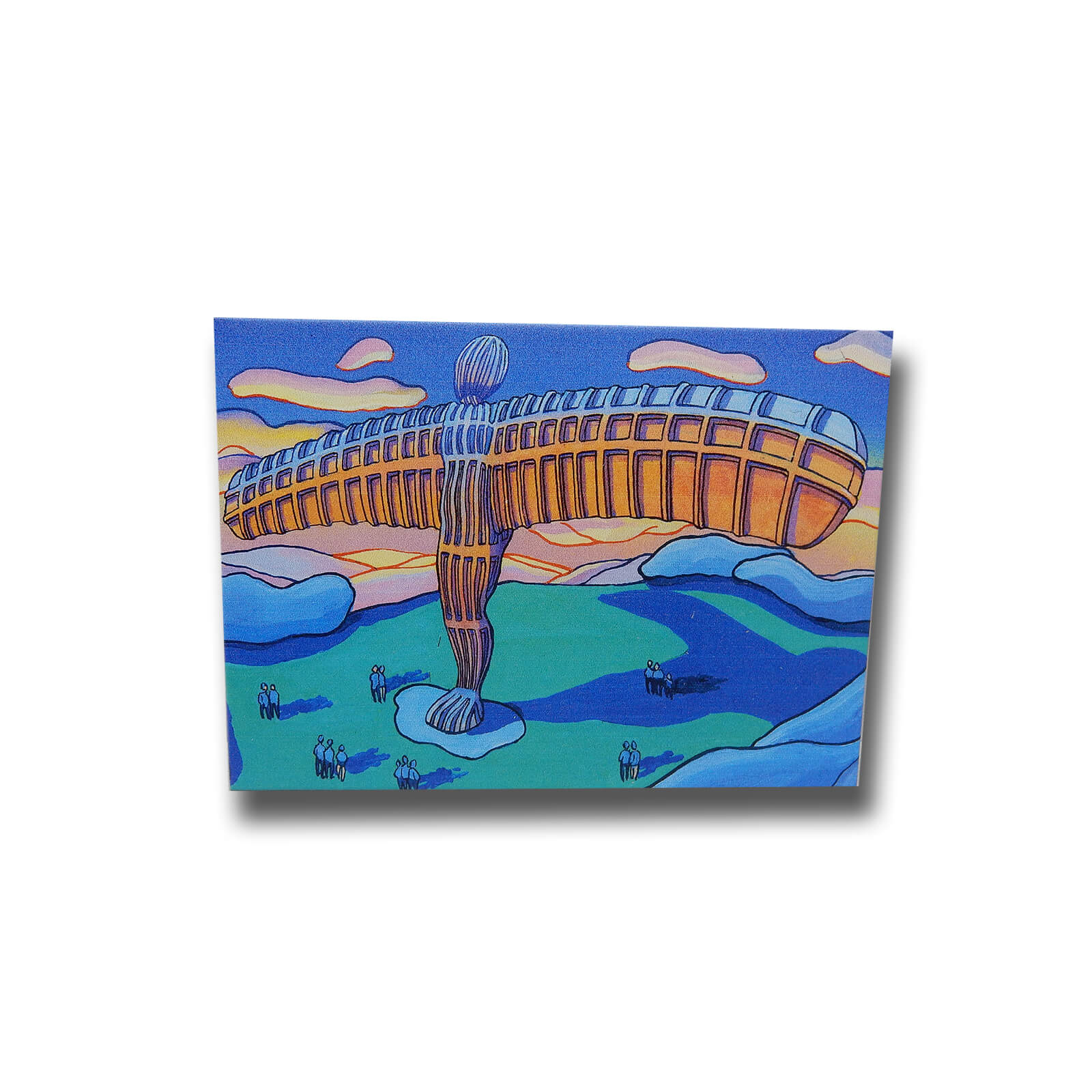 John Coatsworth Angel of the North Premium Magnet