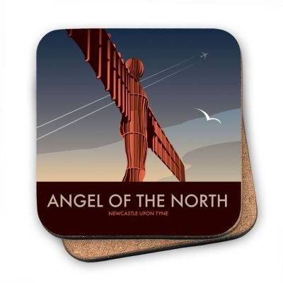 Dave Thompson Angel of the North Coaster