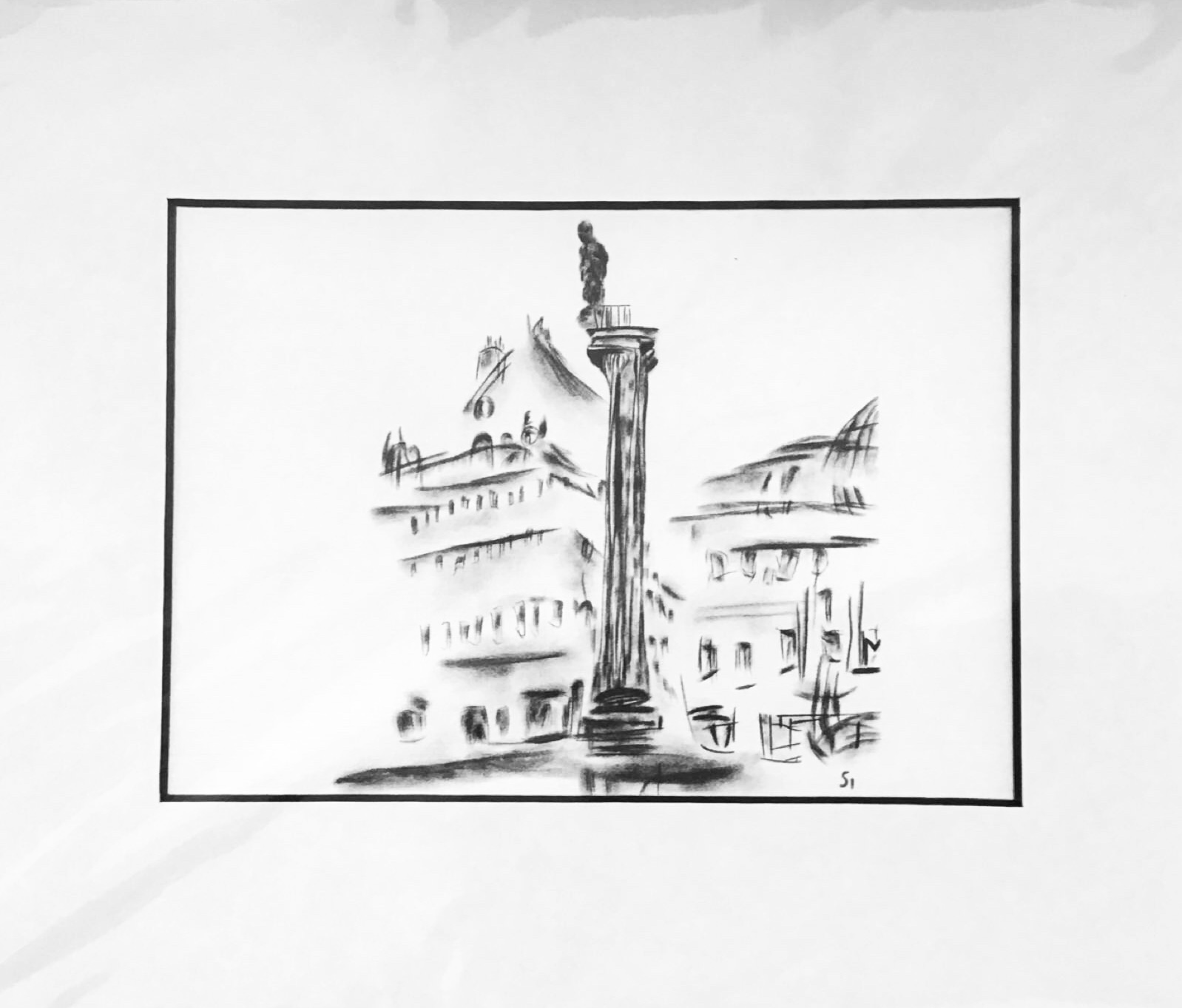 Simon Turner Monument Printf