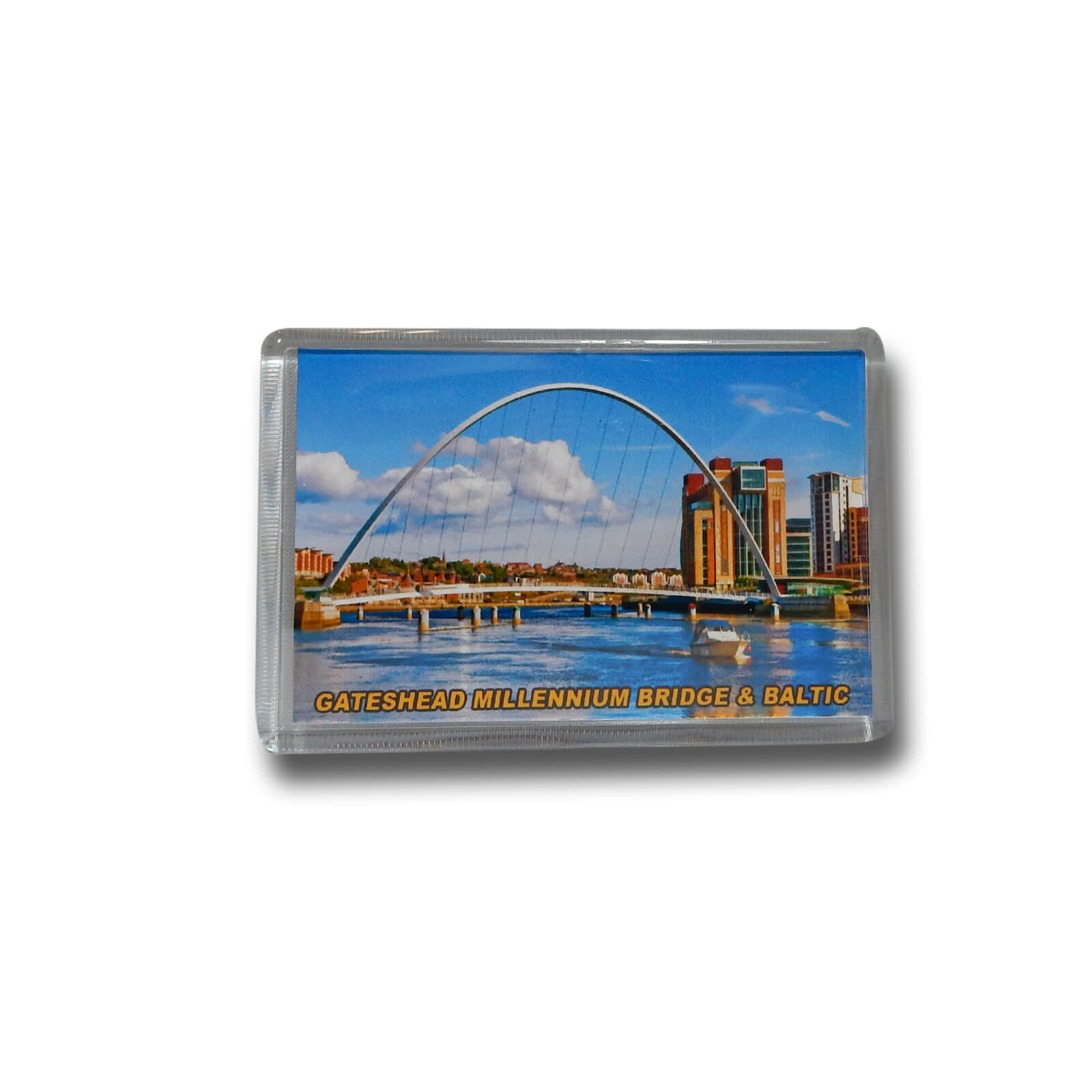 Gateshead Millennium Bridge & Baltic Photo Magnet