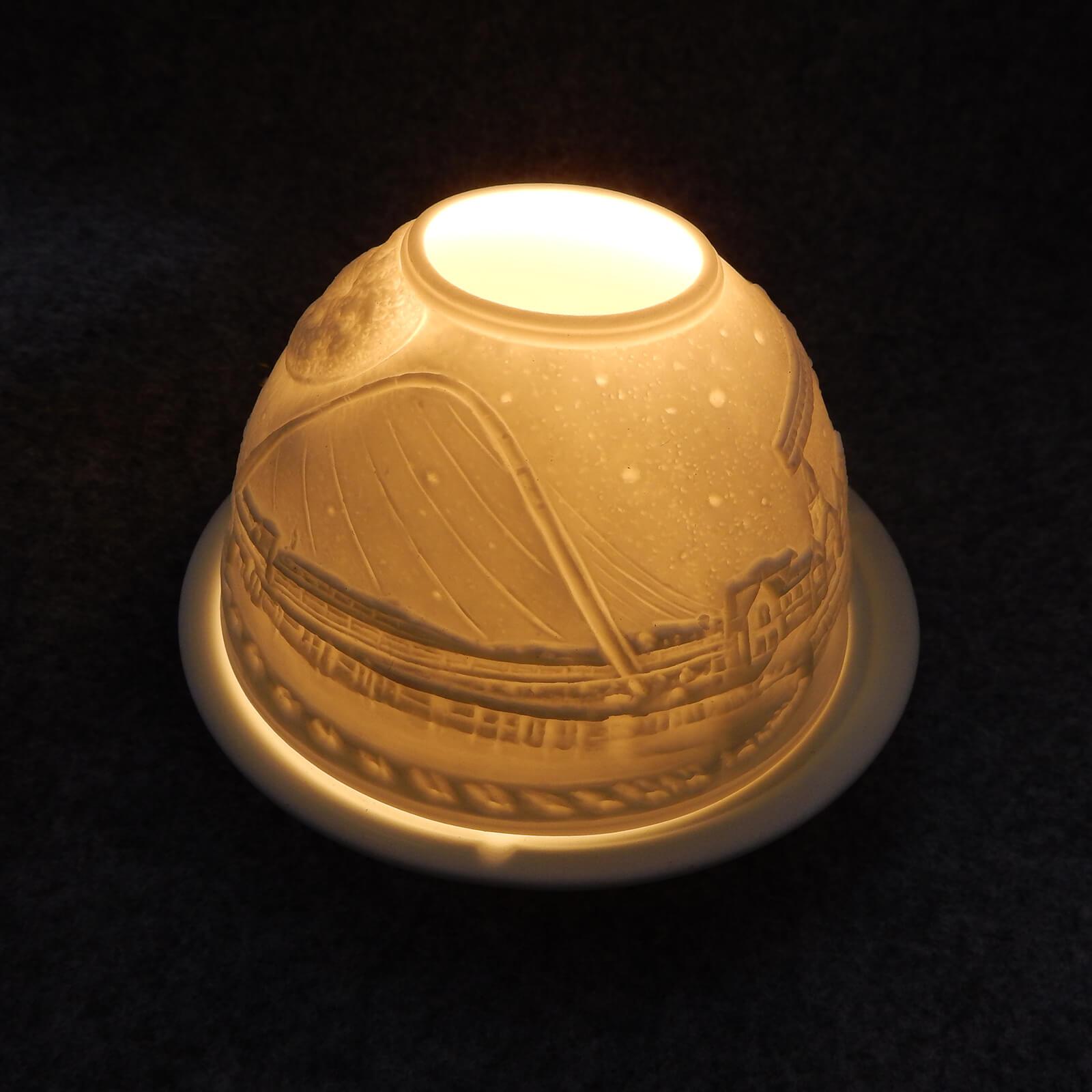 North East Landmarks Ceramic Ornamental Tea-light Holder