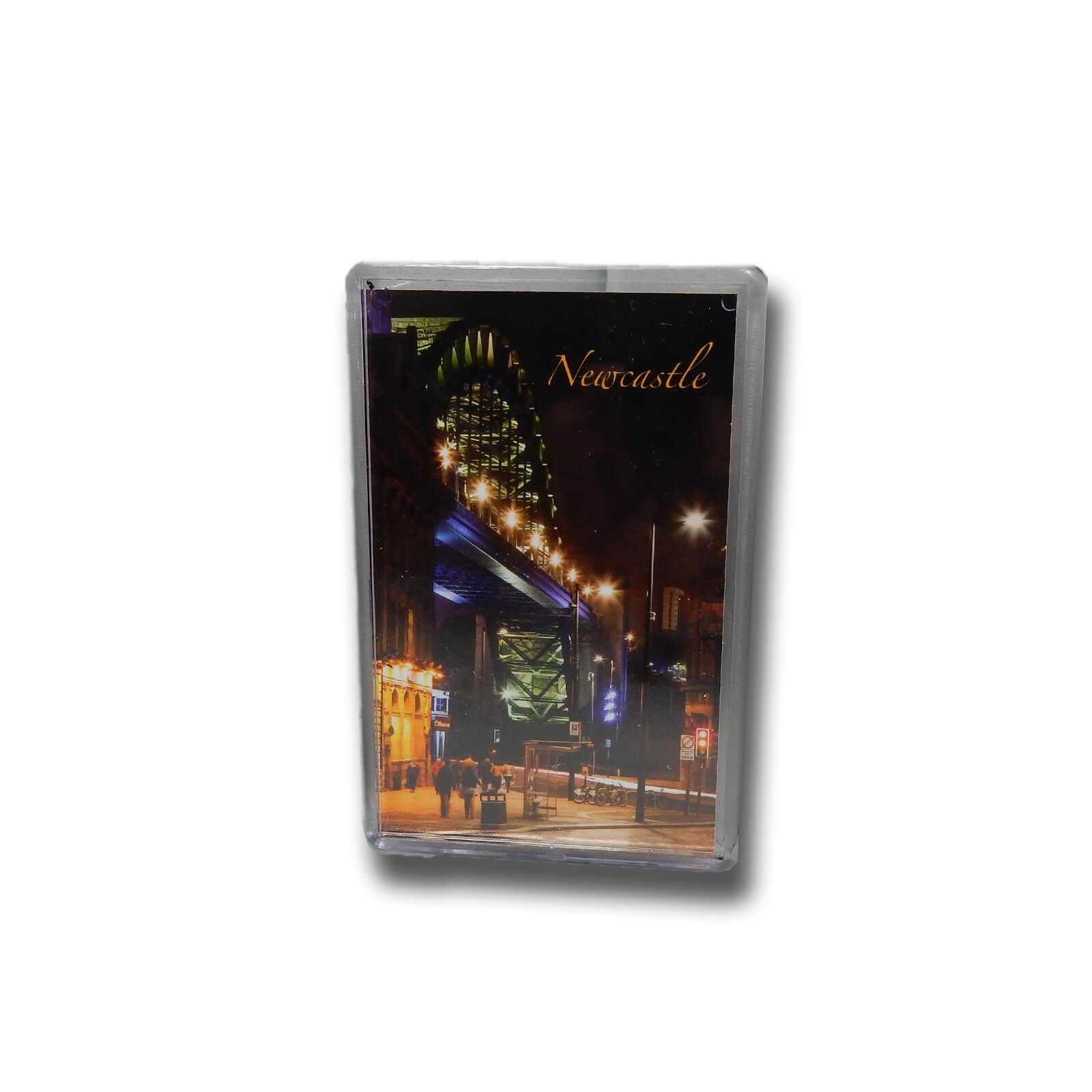 Tyne Bridge & Quayside at Night Photo Magnet