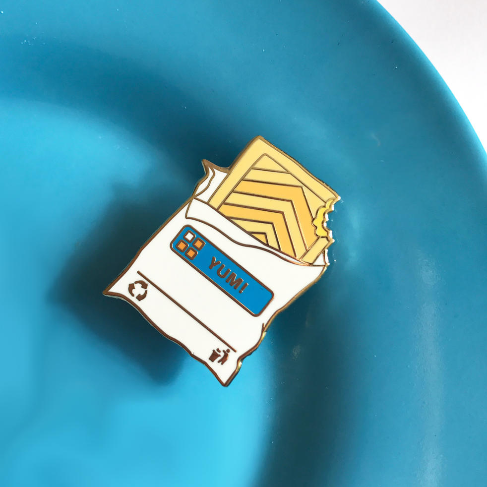 Pasty Pin Badge