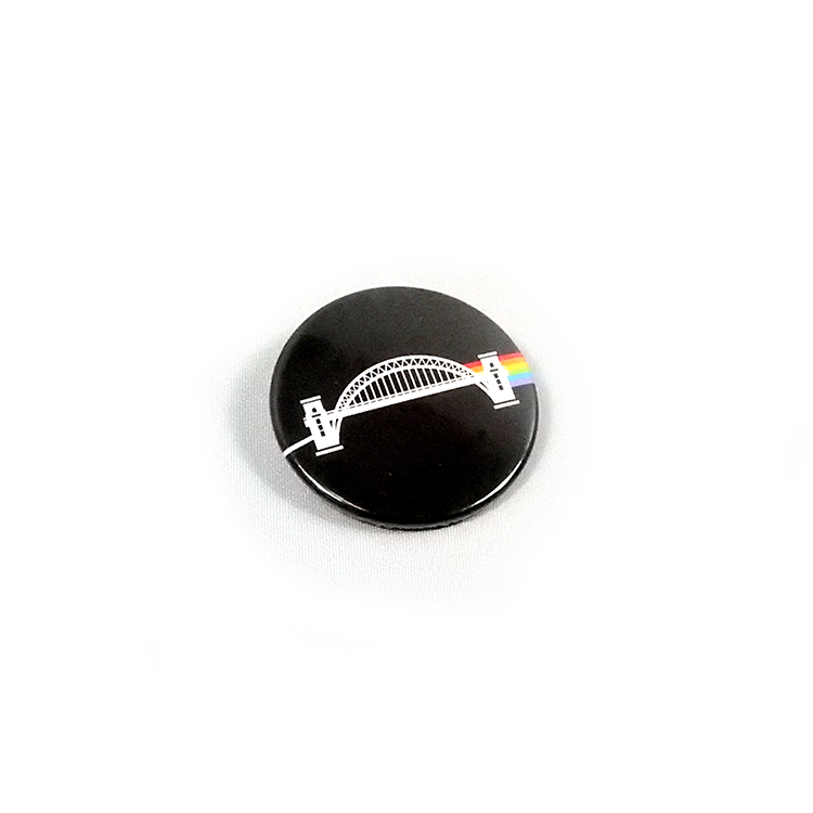 Dark Side of the Toon Pin Badge
