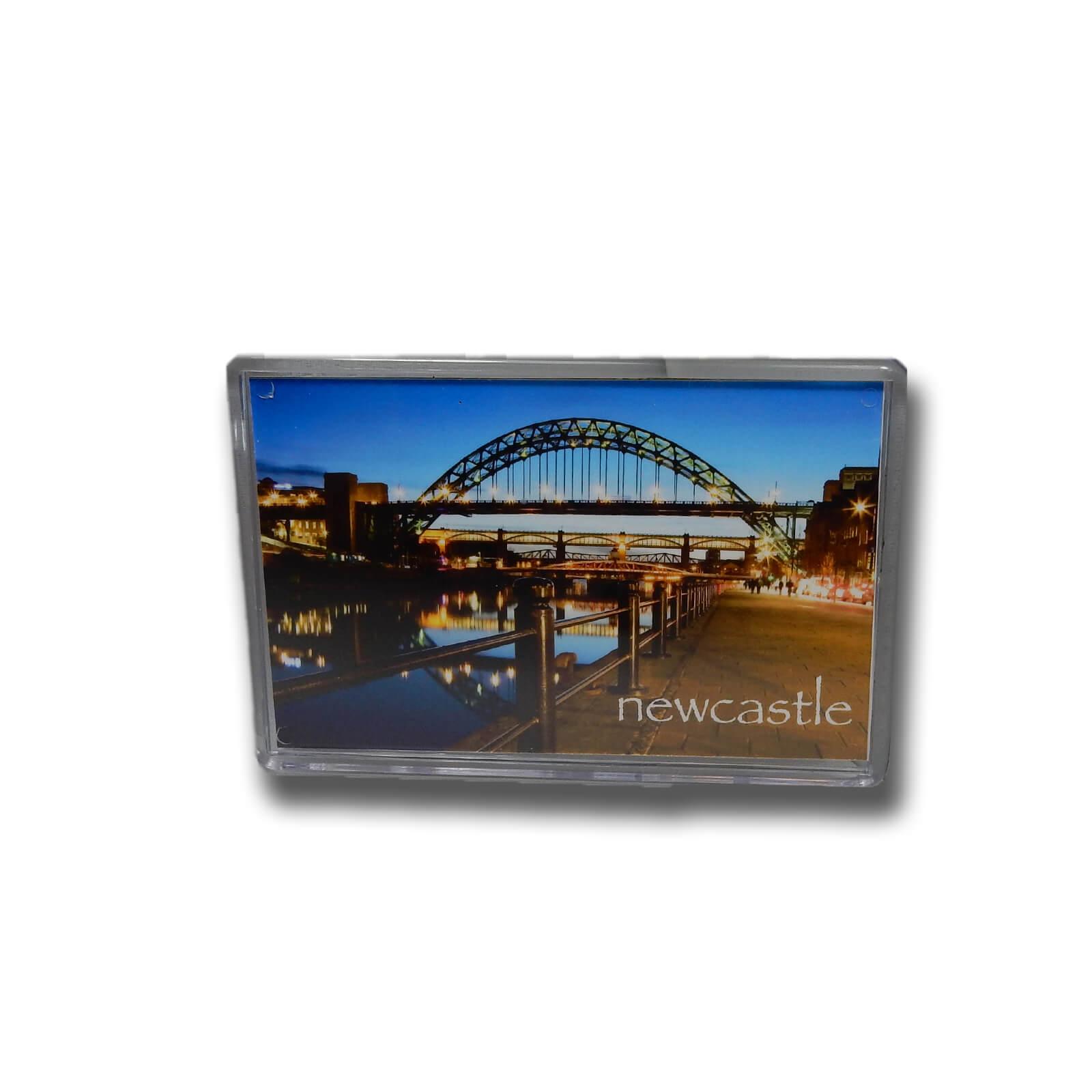 Tyne Bridge at Dusk Photo Magnet