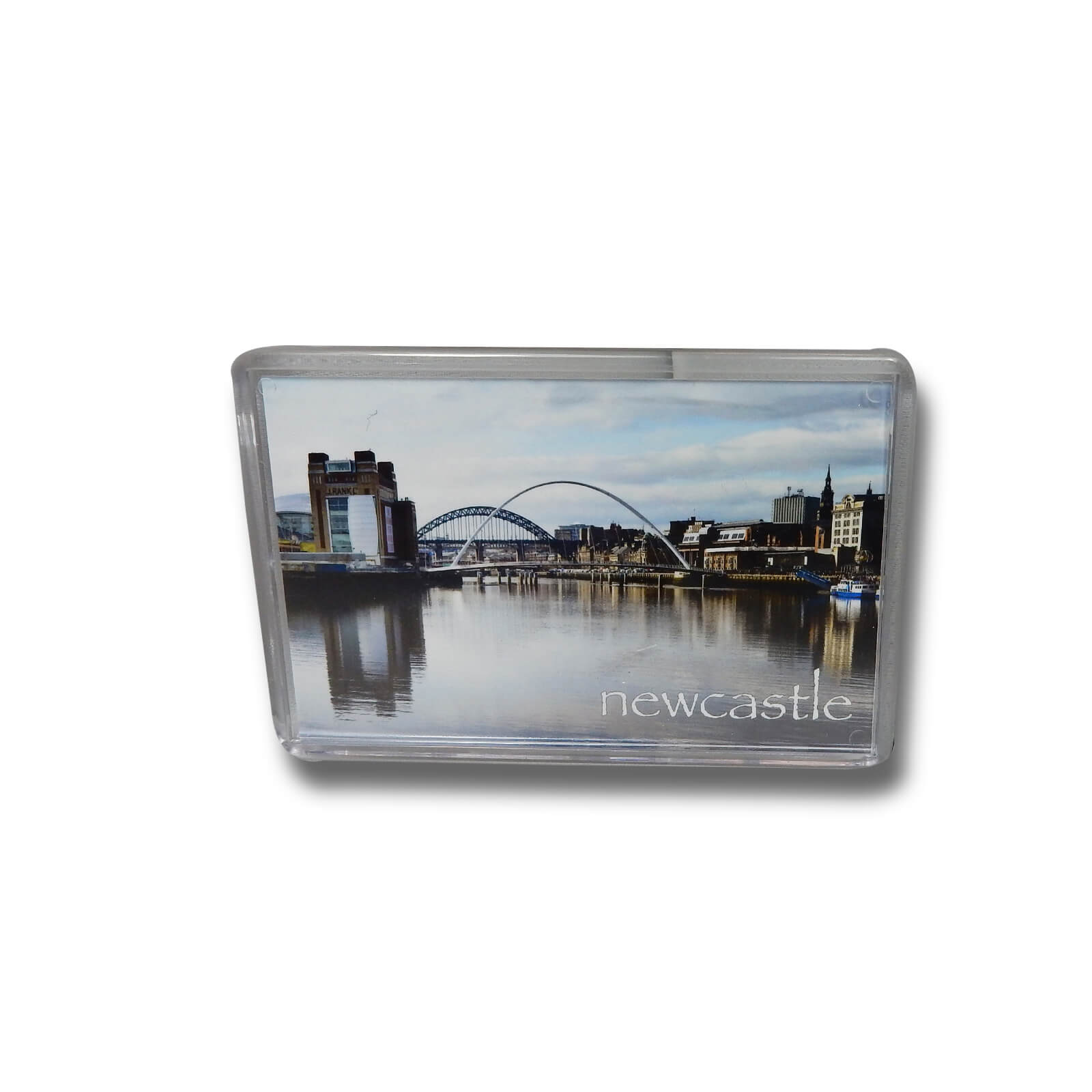 Millennium Bridge Baltic & Tyne Bridge Photo Magnet