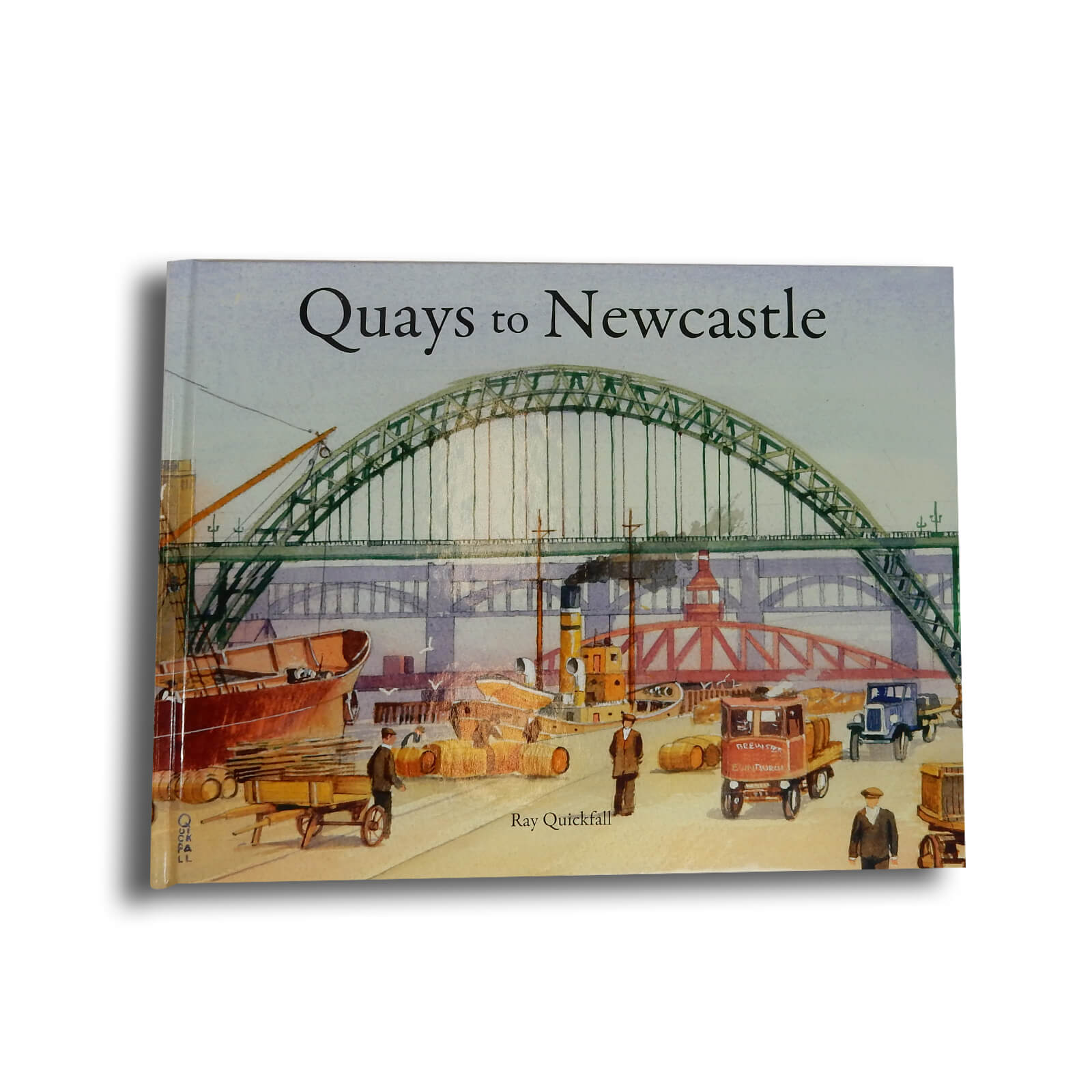Quays to Newcastle Book