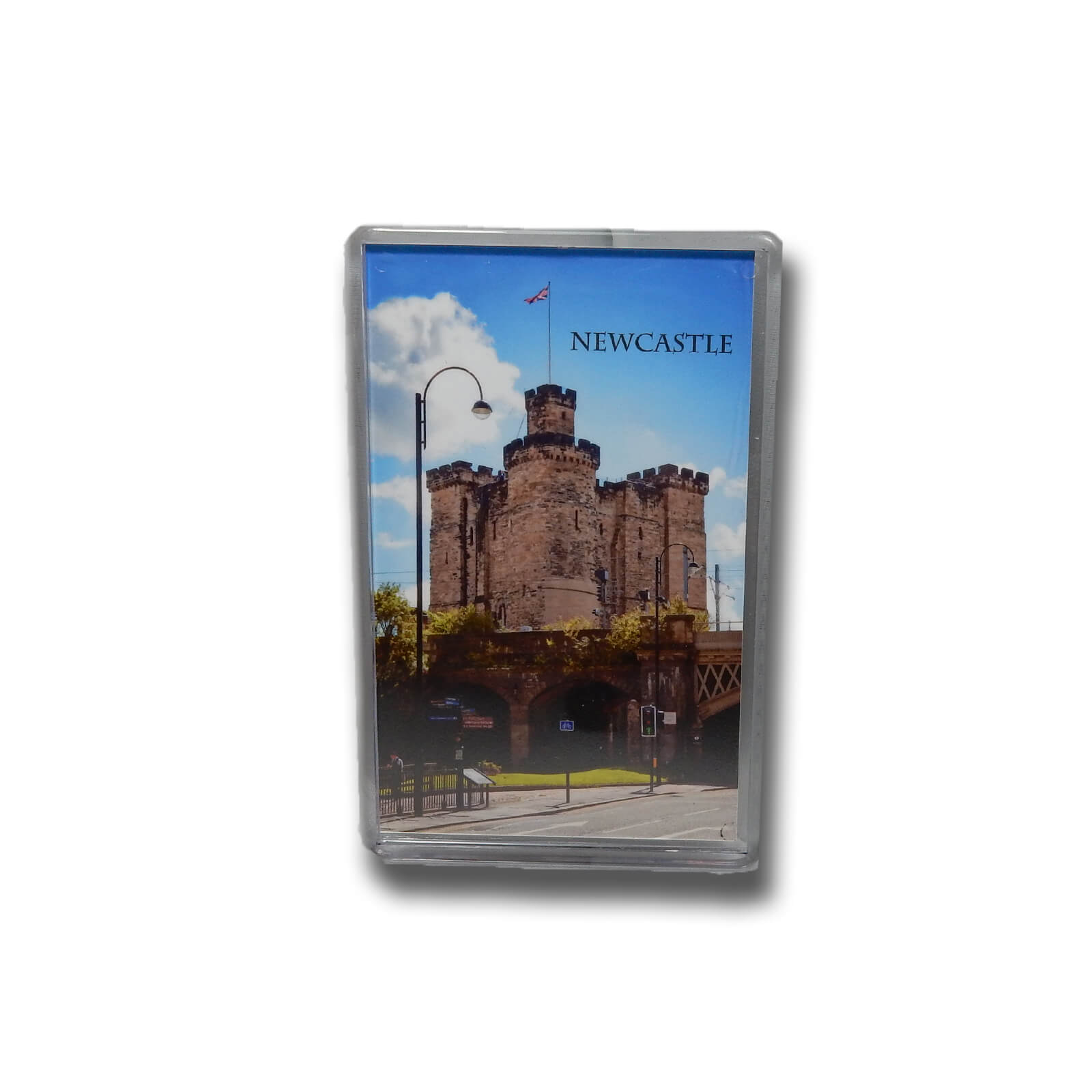 Newcastle Keep Photo Magnet
