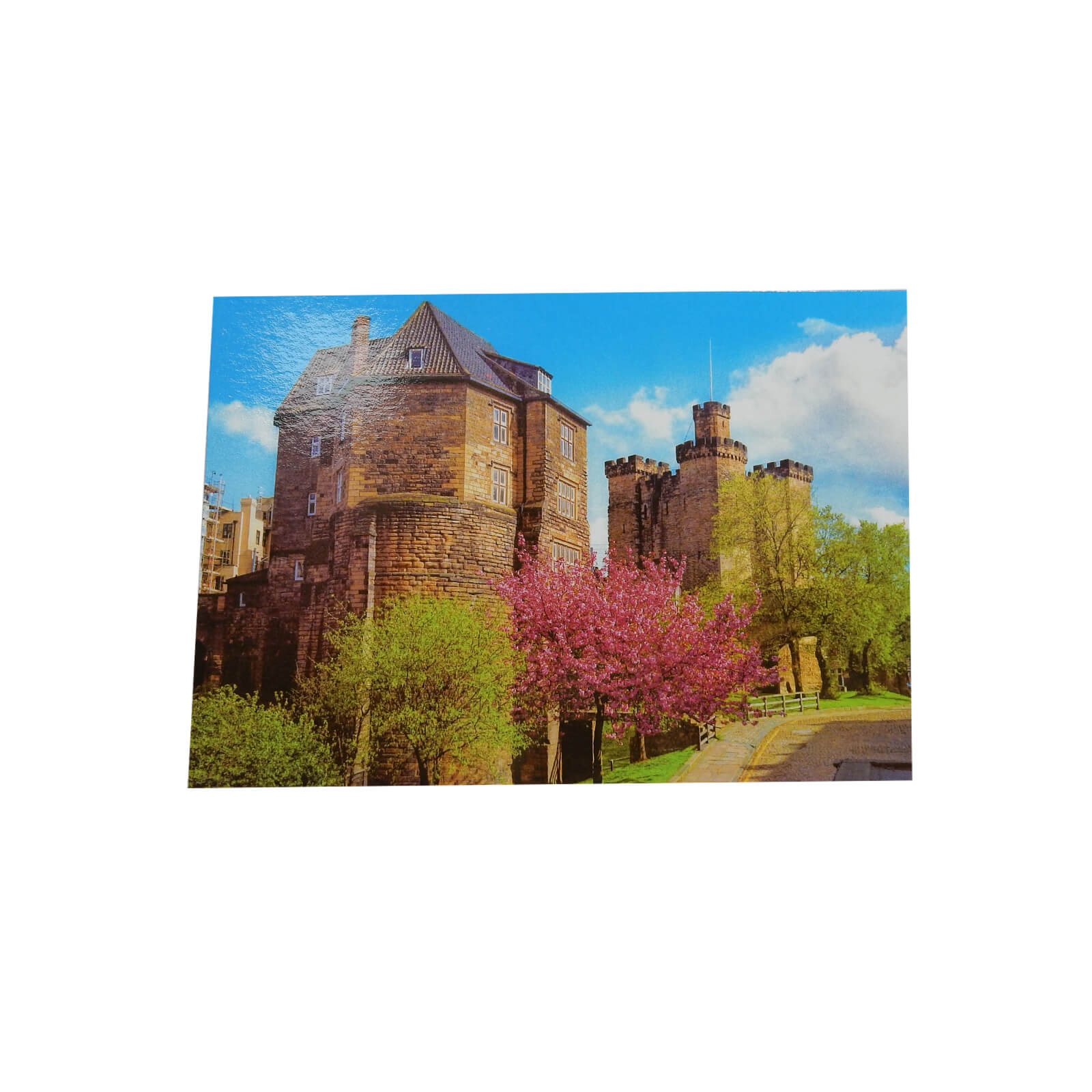 Black Gate & Castle Keep Postcard