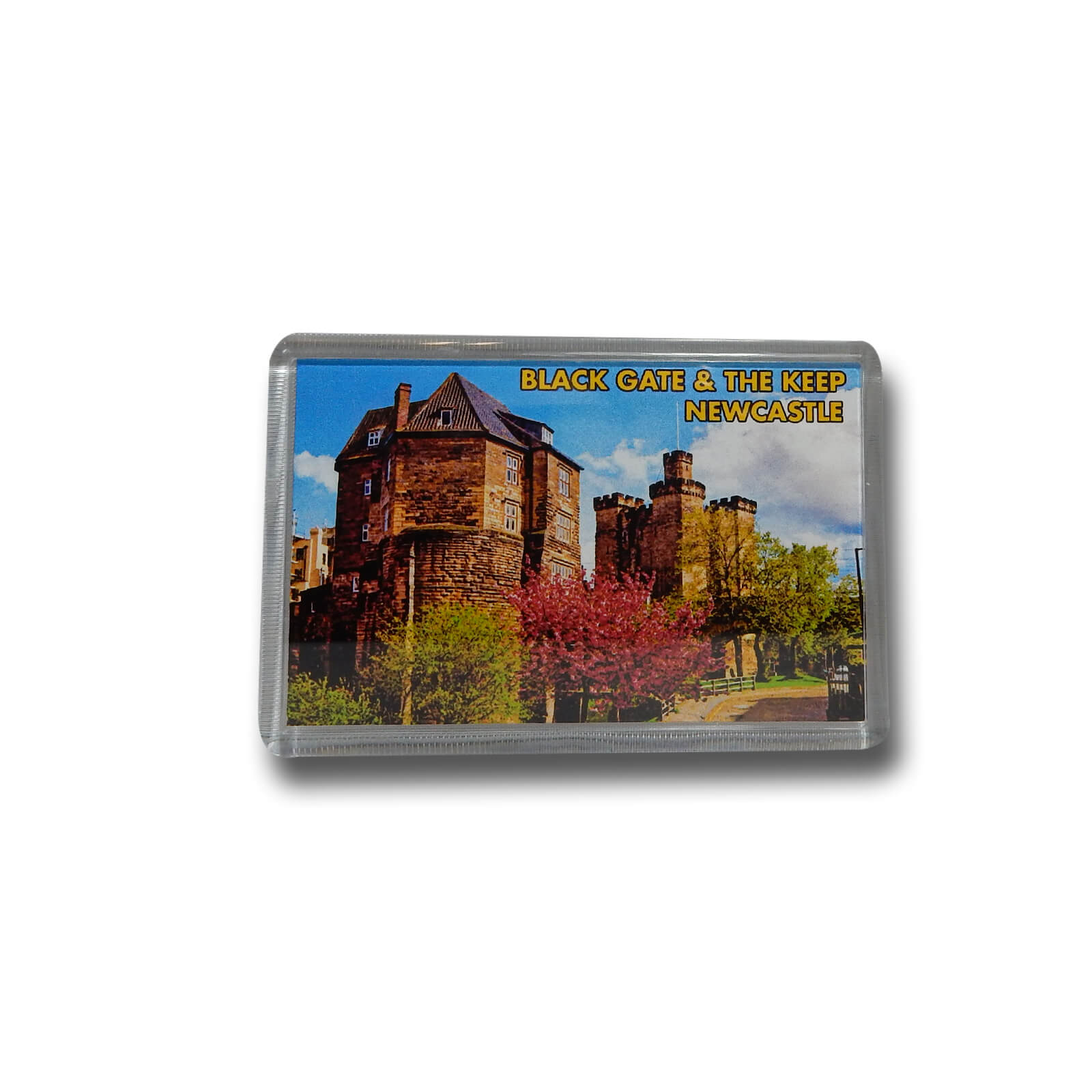 Black Gate & Newcastle Keep Photo Magnet