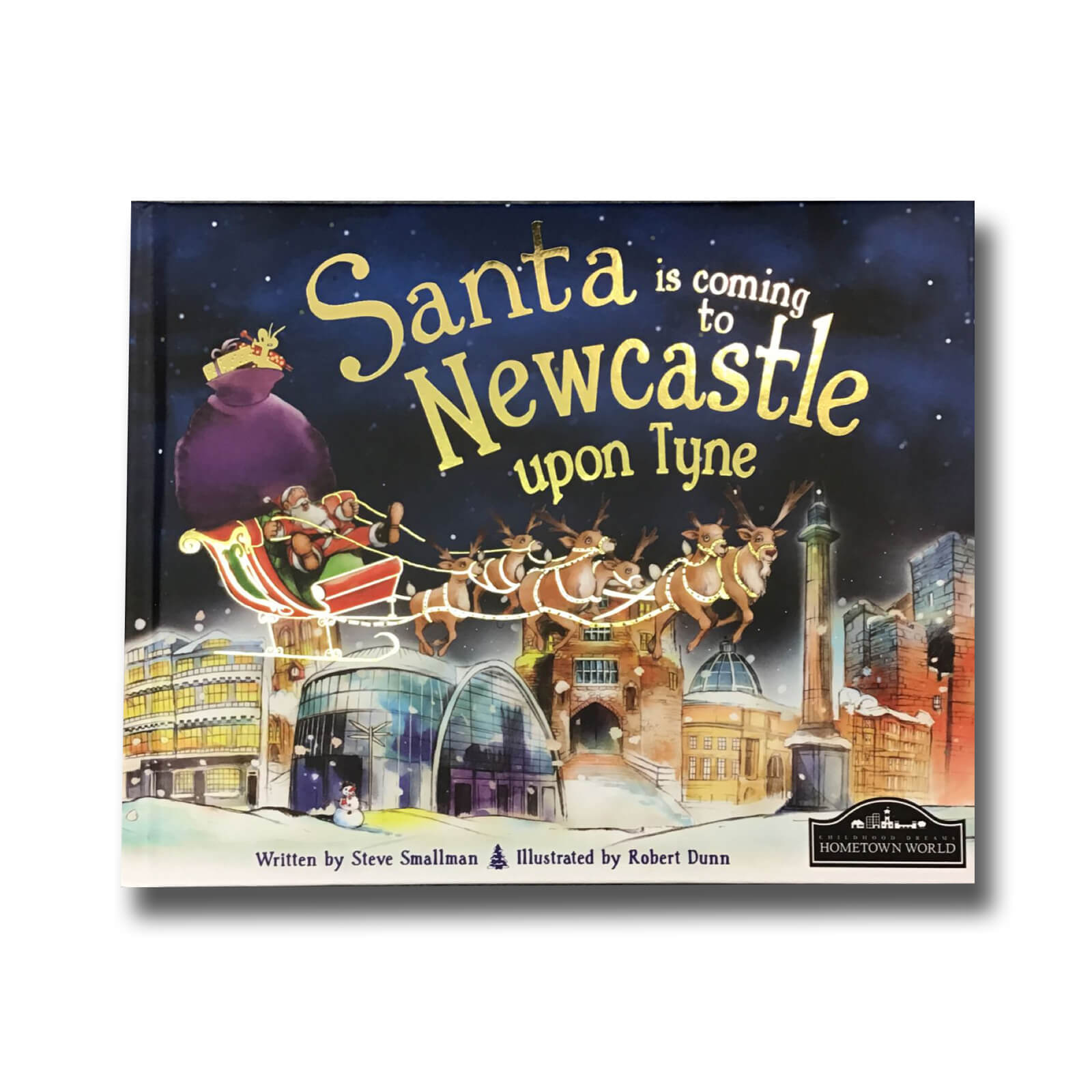 Santa Is Coming To Newcastle Book