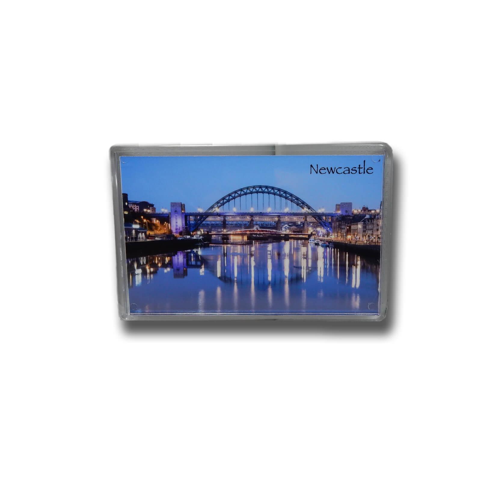 Tyne Bridge & Quayside Photo Magnet
