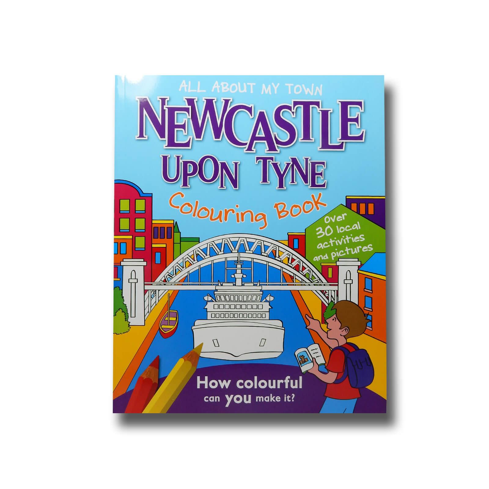 Newcastle-upon-Tyne Colouring Book