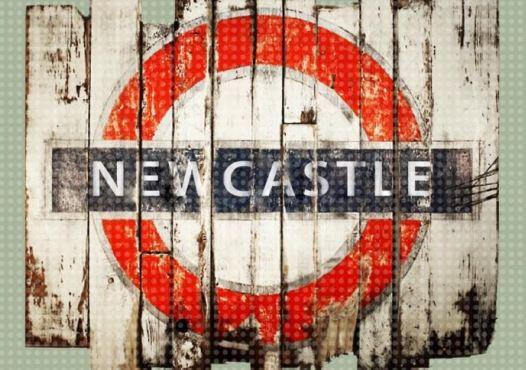 Newcastle Underground A4 Print