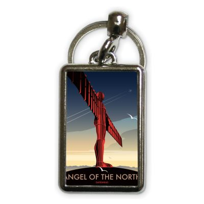 Dave Thompson Angel Of The North Metal Keyring