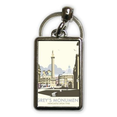 Dave Thompson Grey's Monument Metal Keyring
