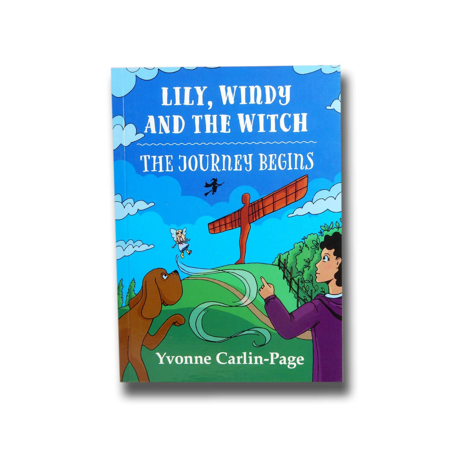 Lily, Windy and the Witch Book