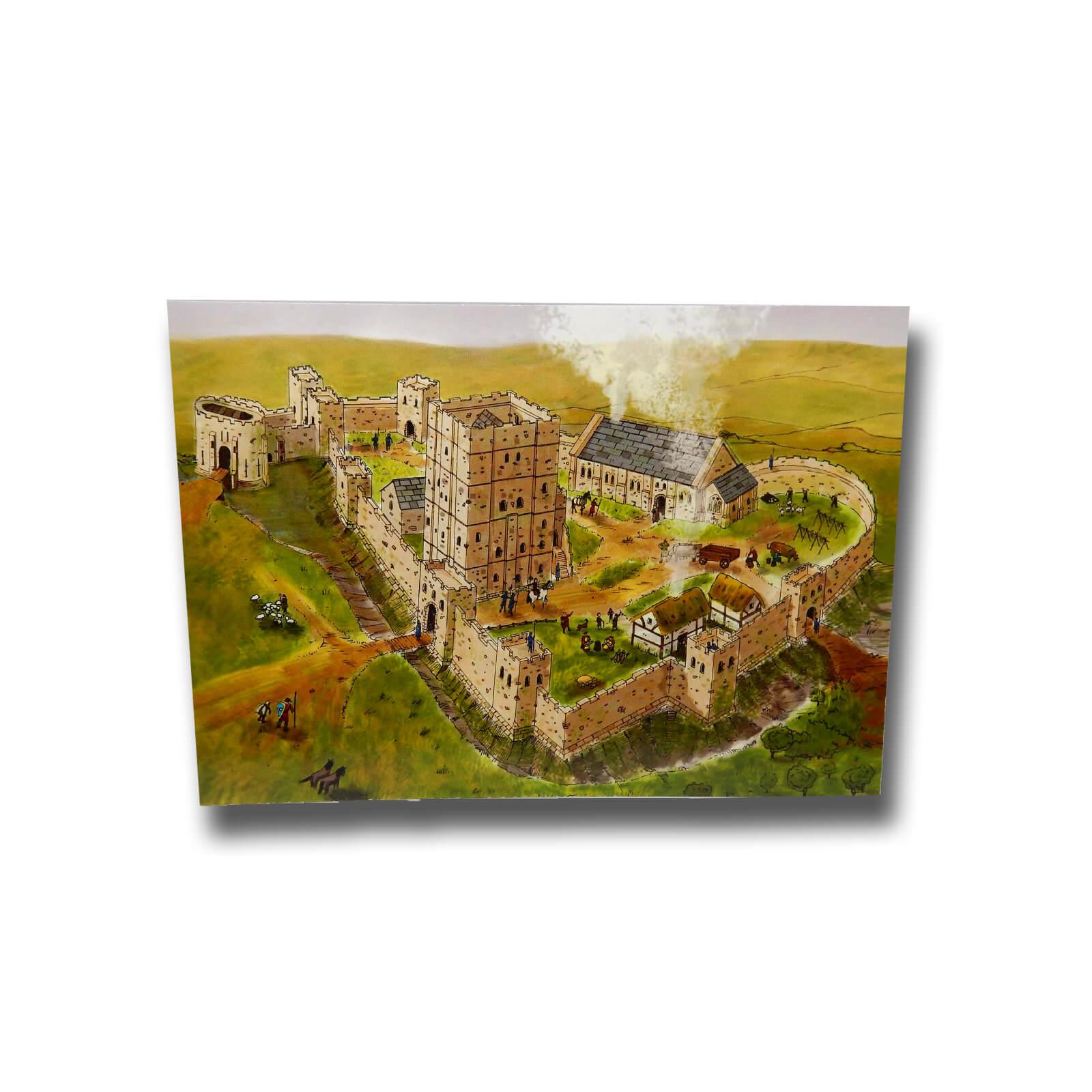 Old Castle Postcard