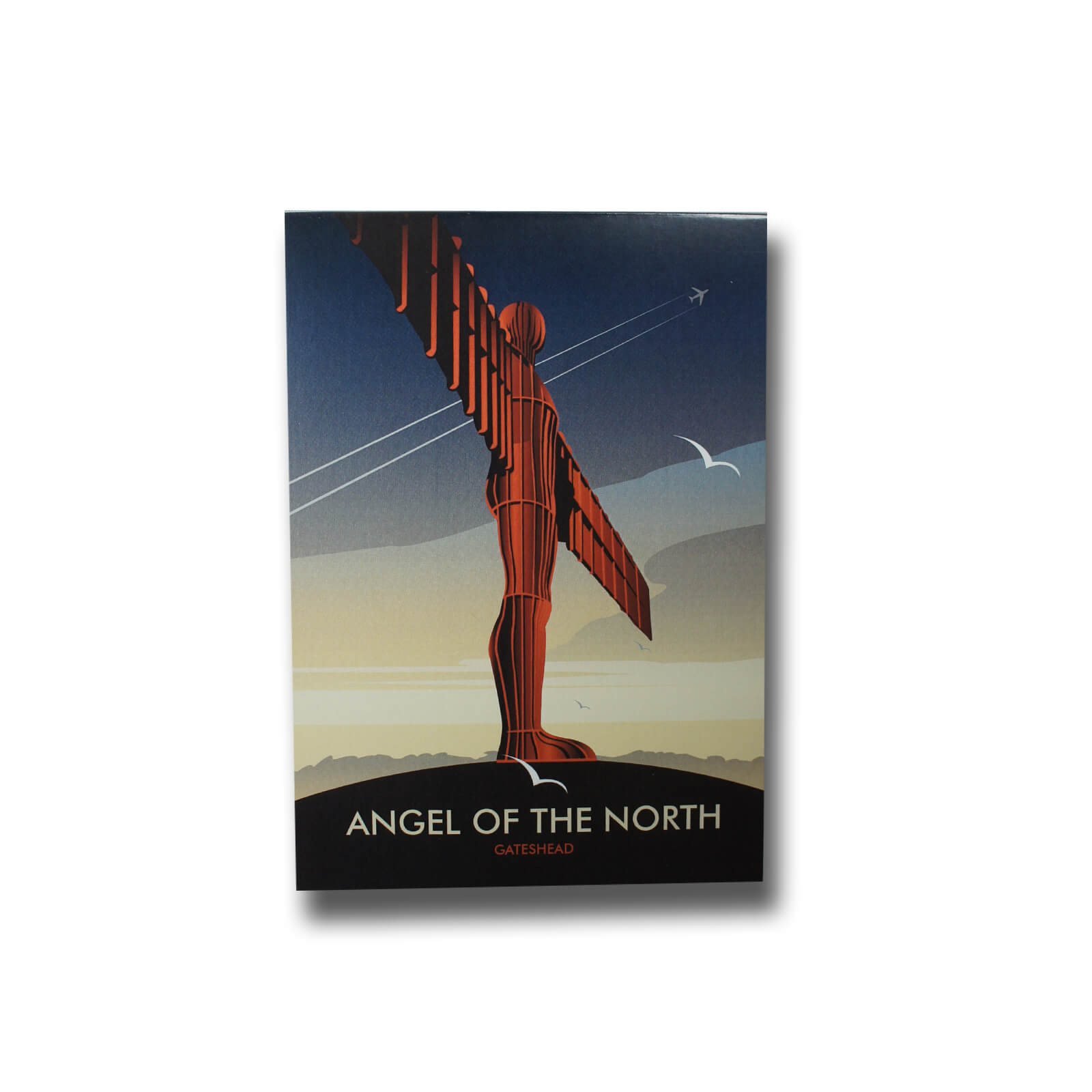 Dave Thompson Angel of the North Magnetic Notepad