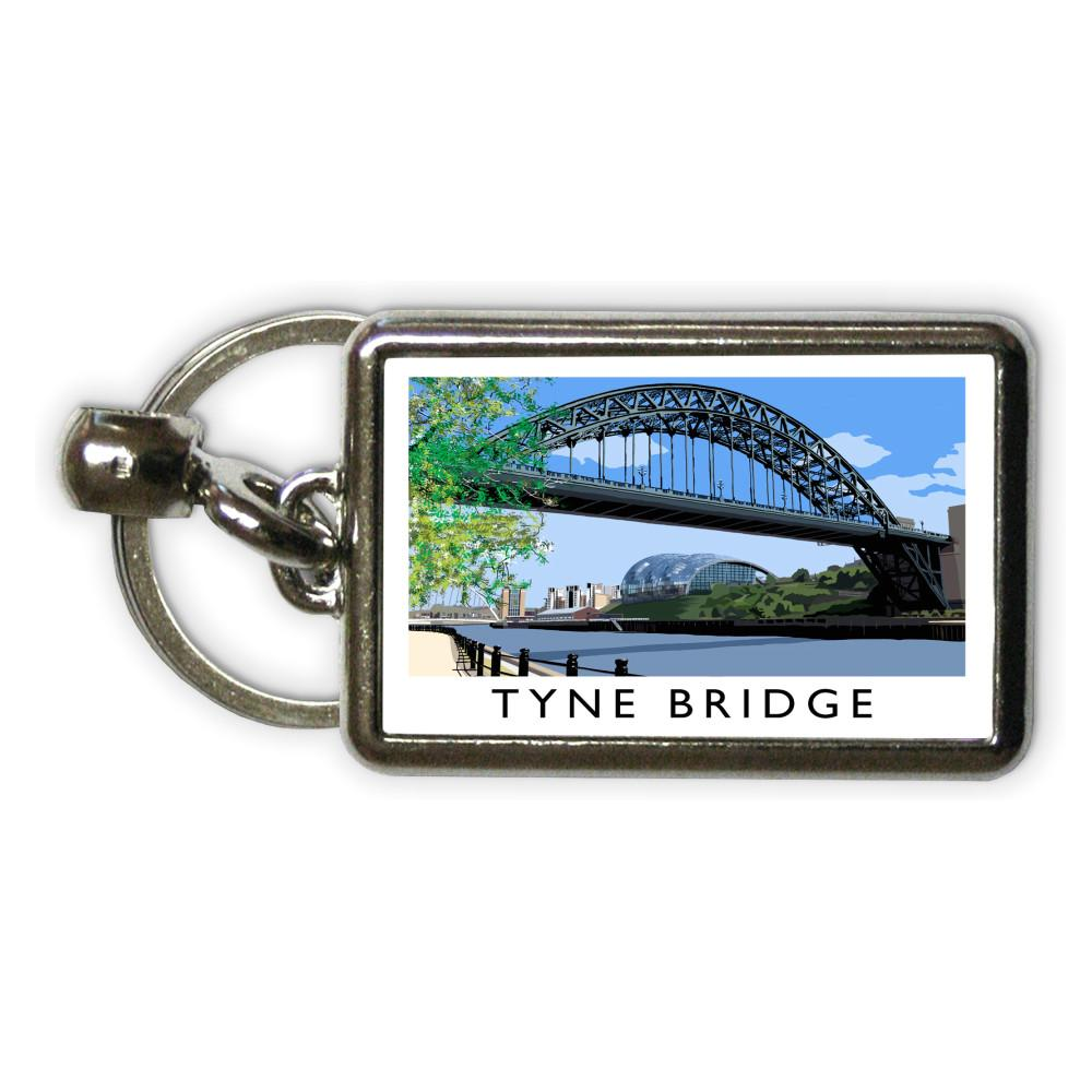 Richard O'Neill Tyne Bridge Metal Keyring