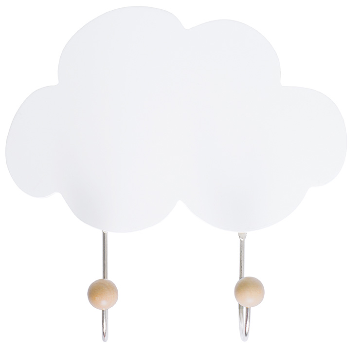 JaBaDaBaDo Kindergarderobe Garderobenhaken Wolke