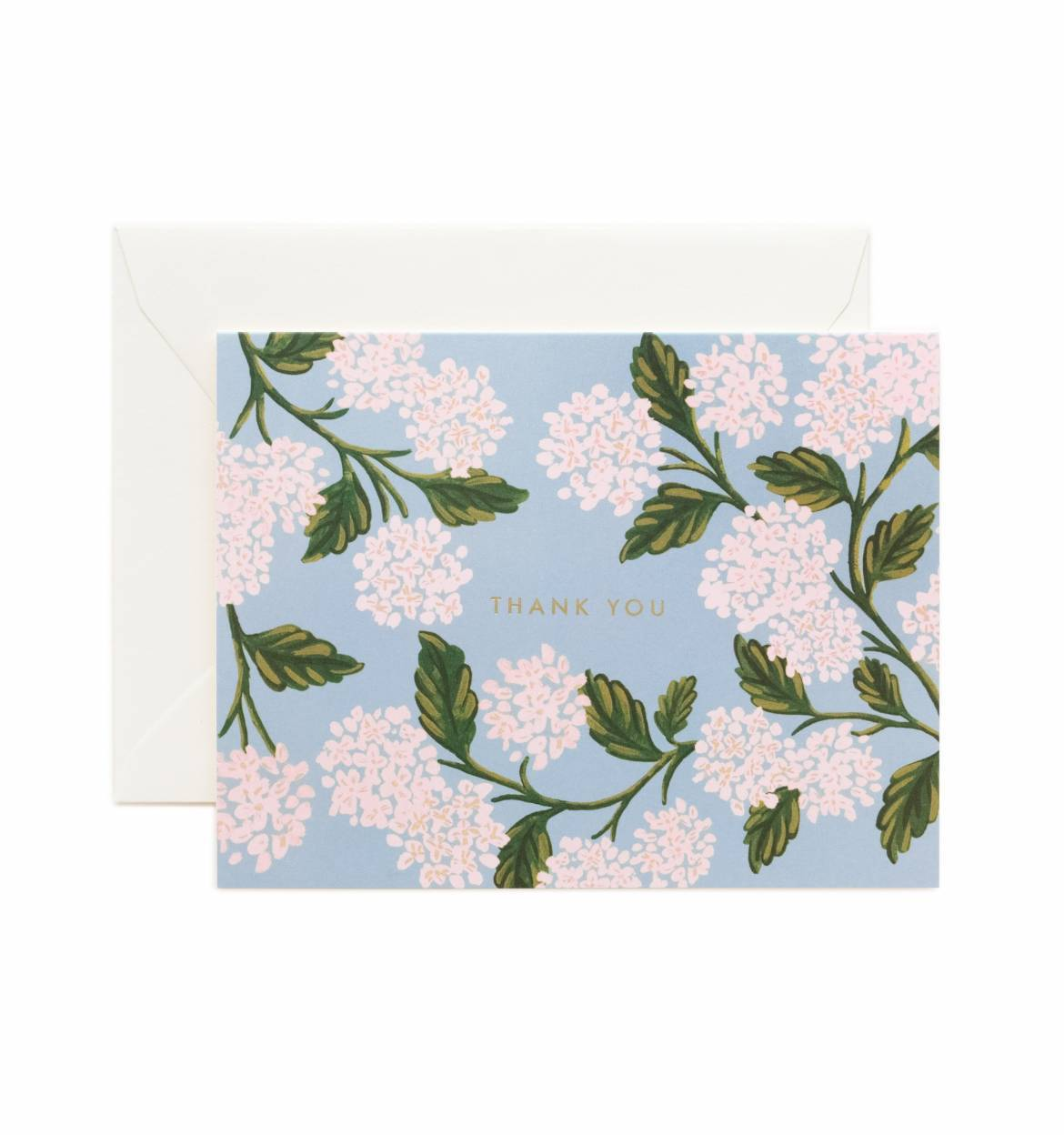 RIFLE - Kort, Hydrangea Thank You card