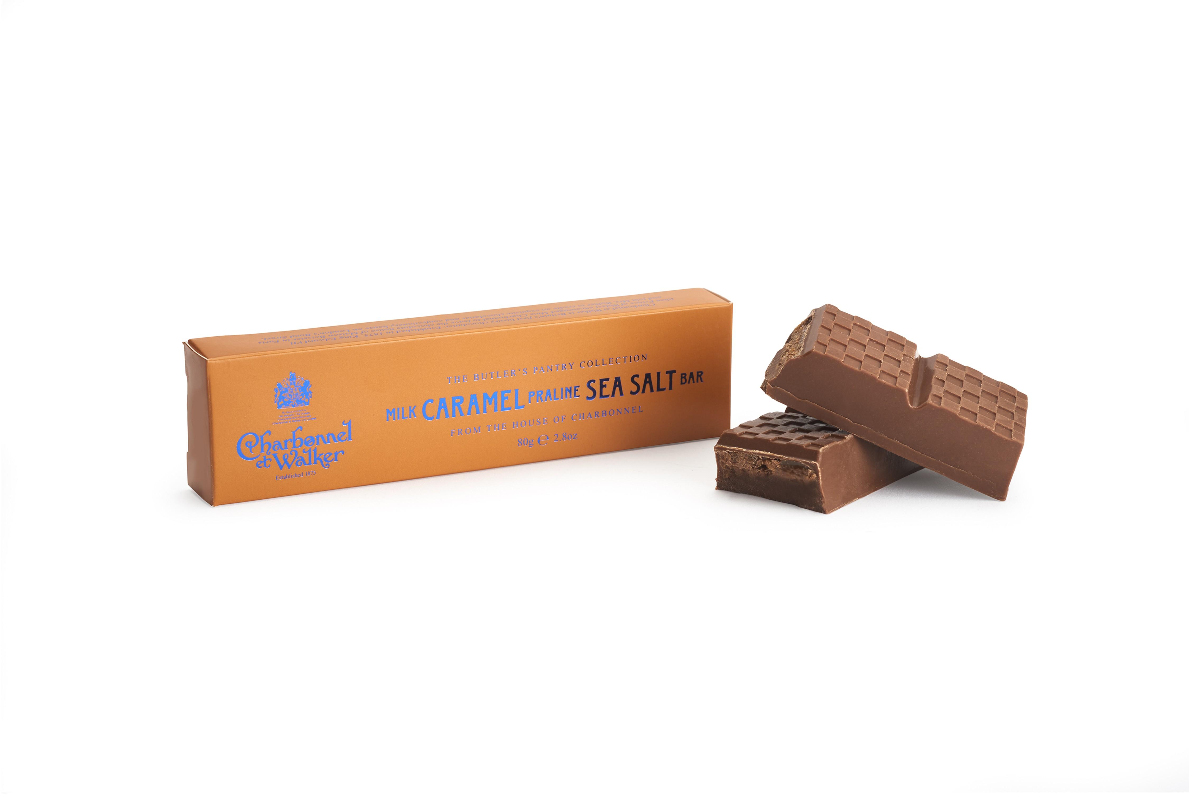 Charbonnel et Walker - Milk Caramel Praline Sea Salt Bar