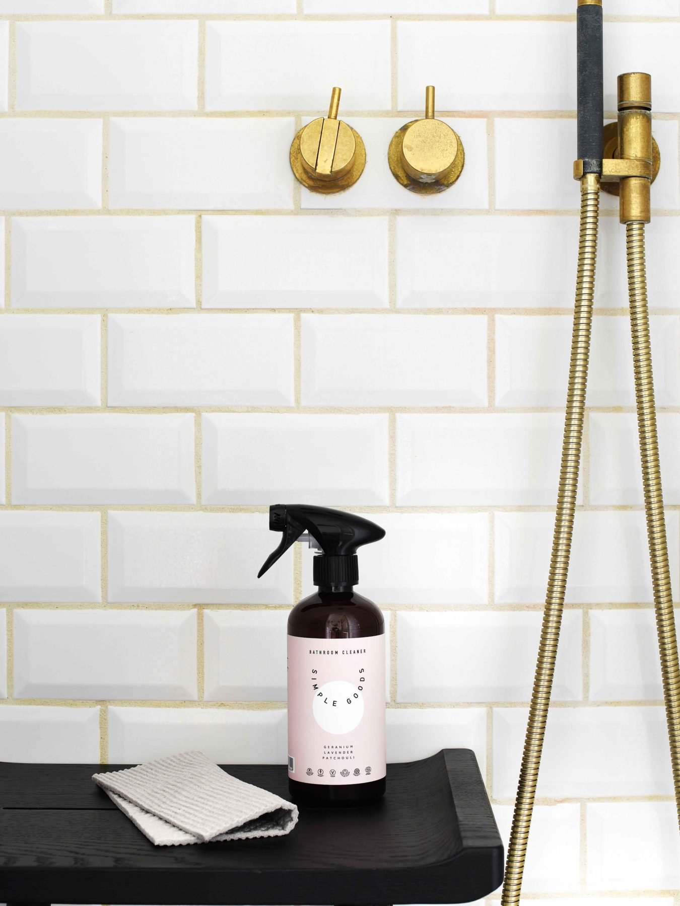 Simple Goods - Bathroom Cleaner 500ml, Geranium