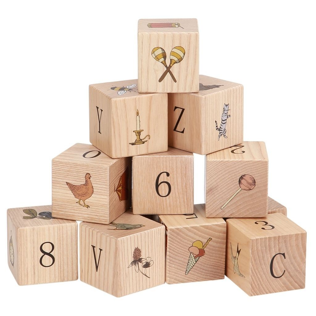 KONGES SLØJD - Wooden blocks