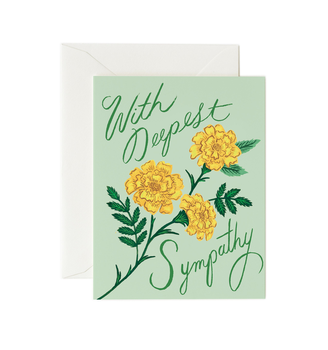 RIFLE - Kort, Marigold Sympathy