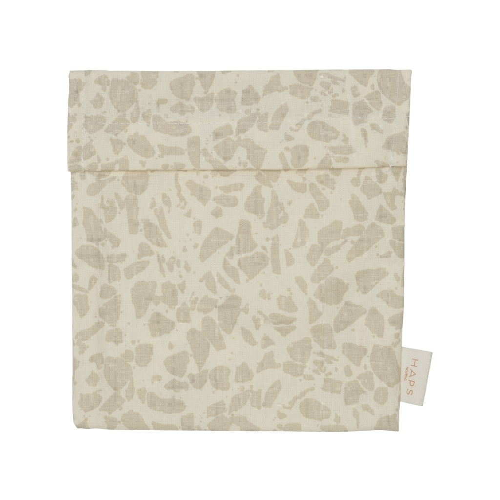 HAPS - Matpakkepose, Terrazzo oyster grey