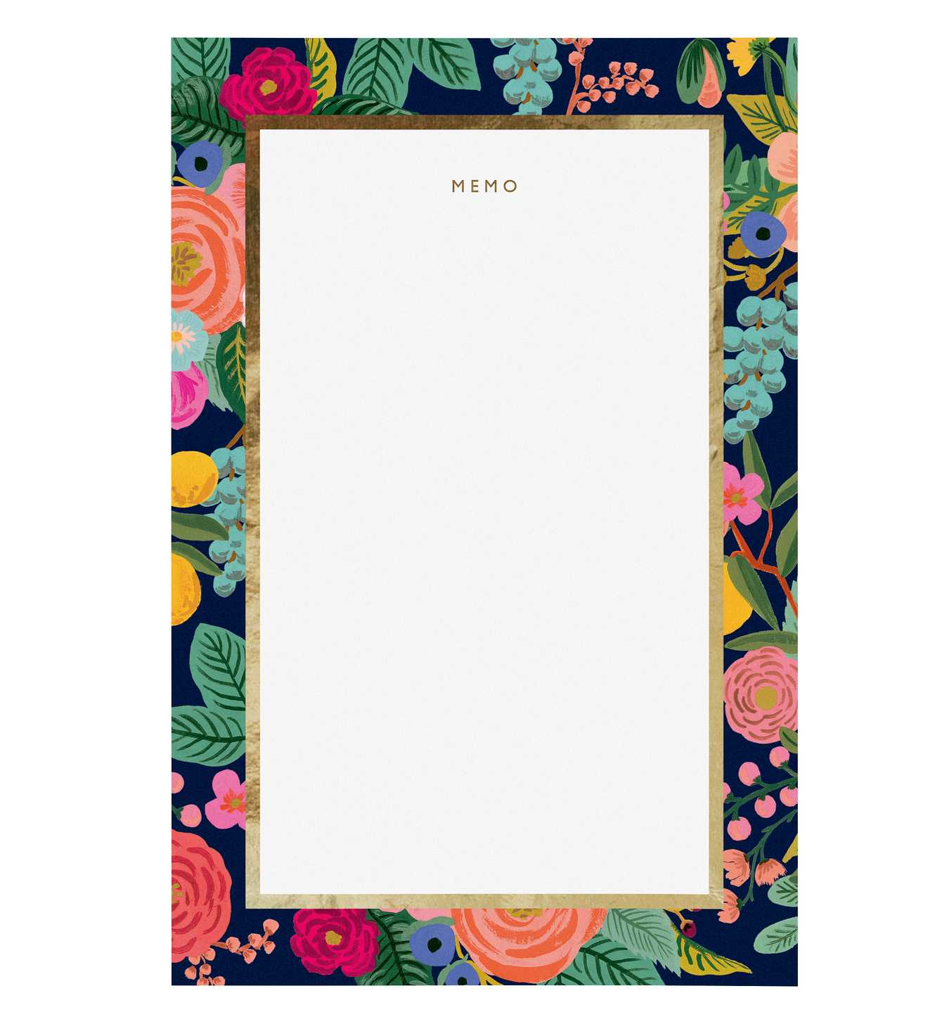 RIFLE - Memo Pad, Garden Party