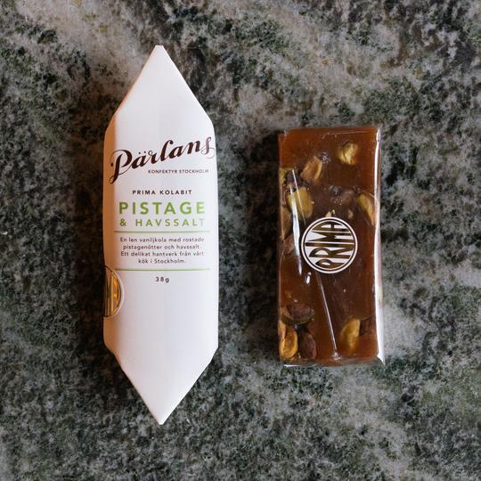 Pärlans - Kolabit, Pistage & havsalt