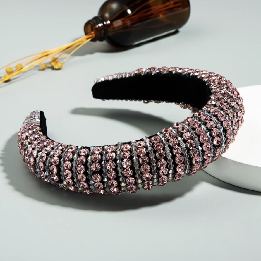 HEADBAND - Baroque pink