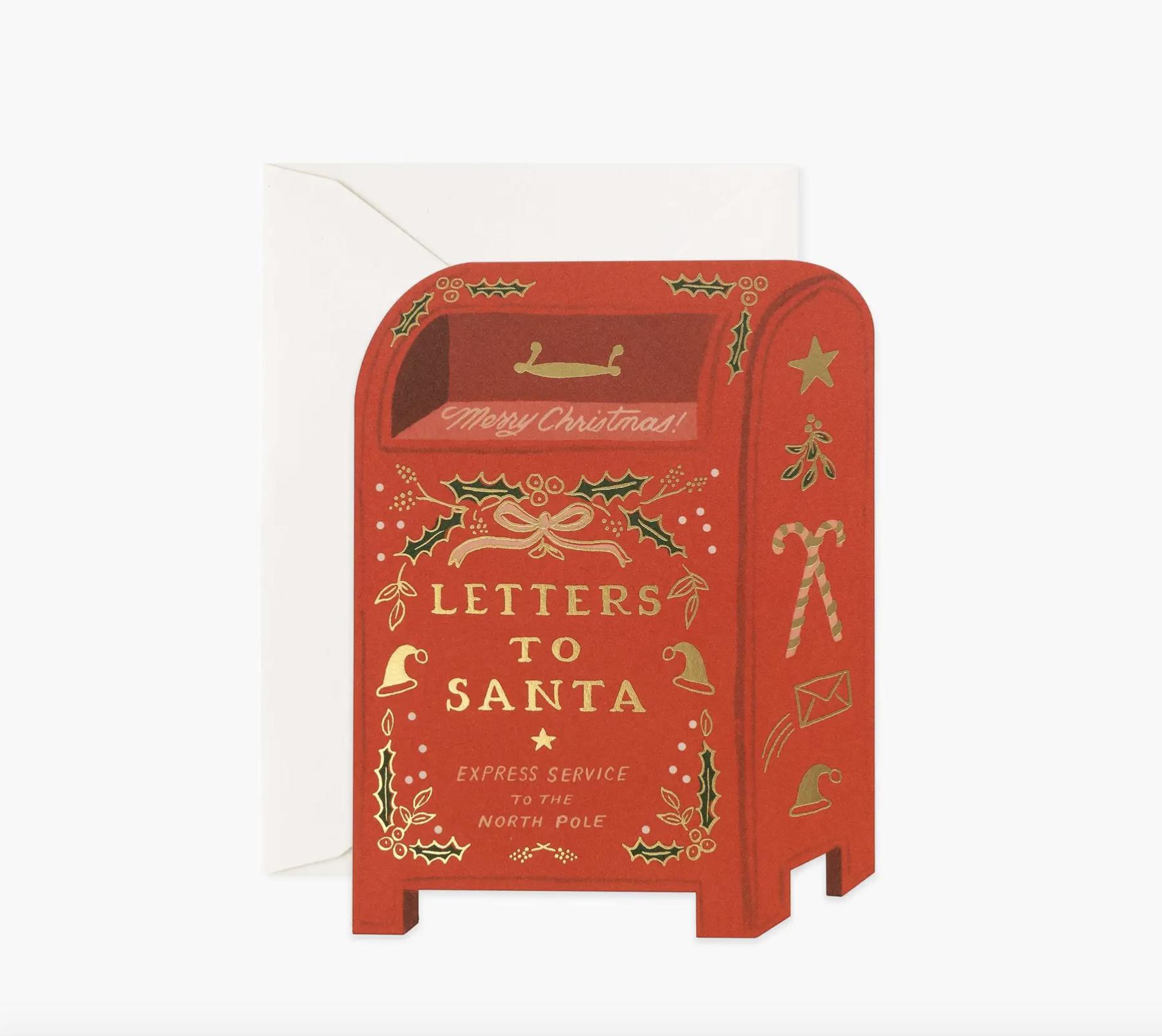 JULEKORT - Letters to Santa Card