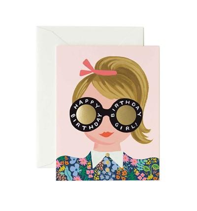 RIFLE - Kort, Meadow Birthday Girl