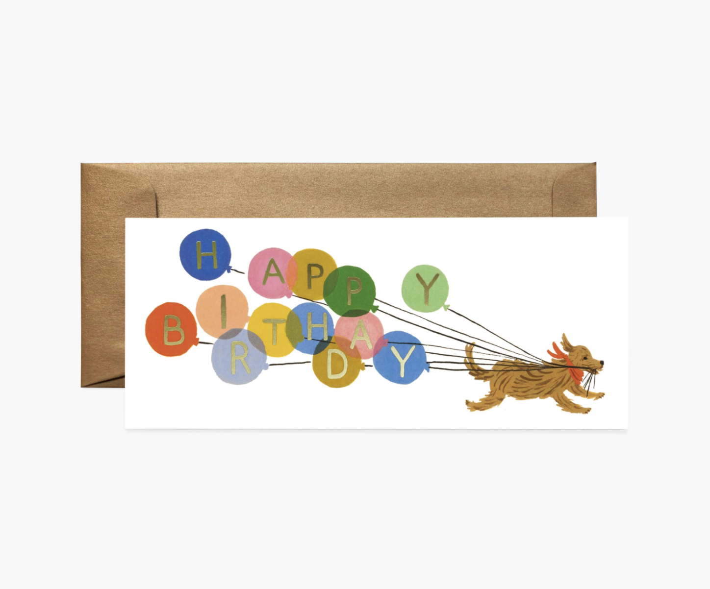 RIFLE - Kort, Birthday Balloon Card