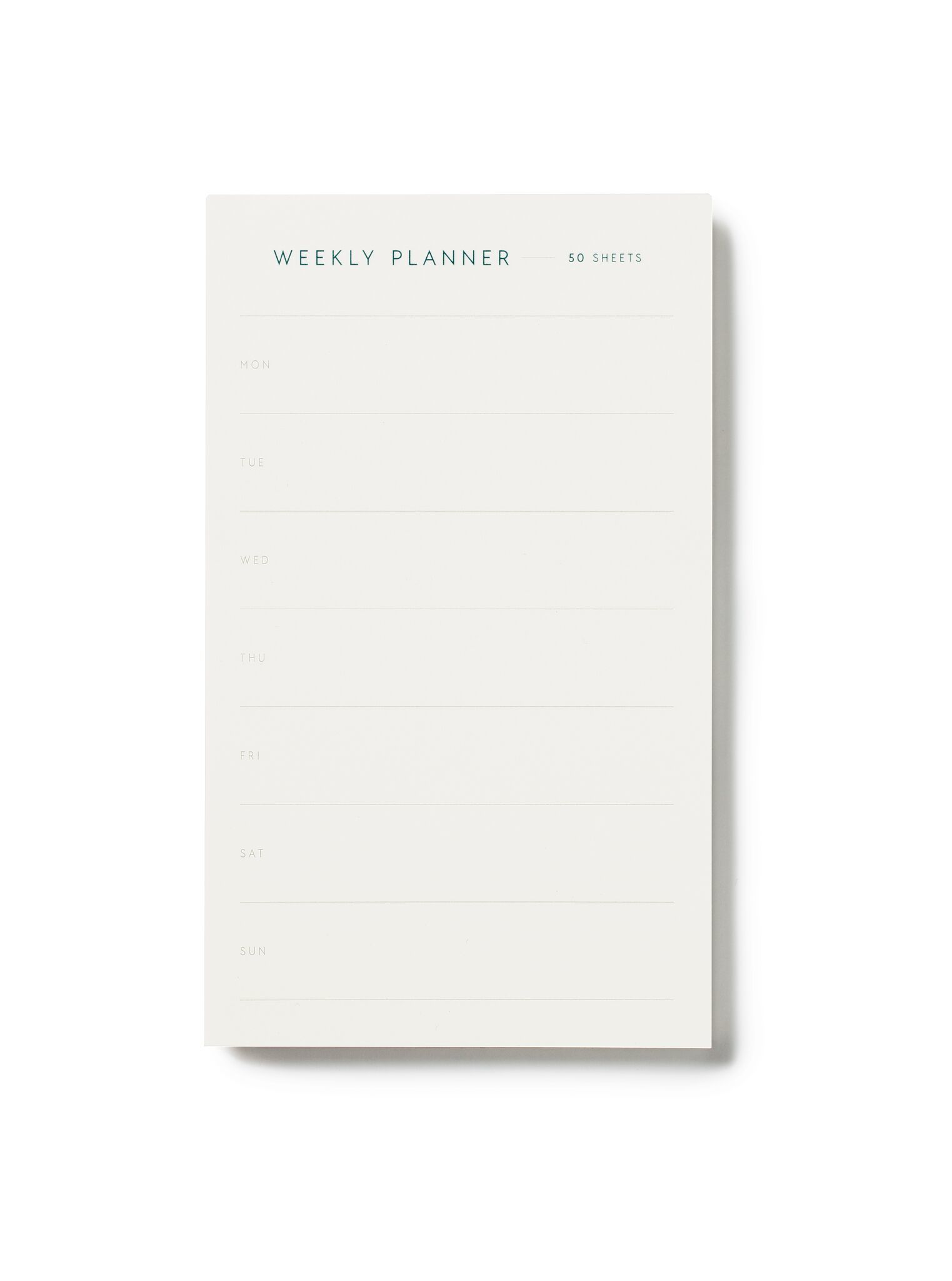 KARTOTEK - Weekly planner small
