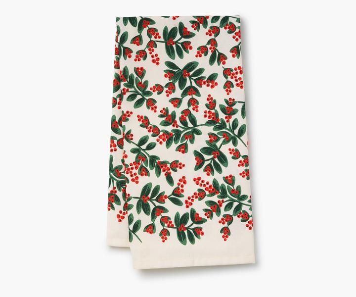 RIFLE - Mistletoe Holiday Tea Towel