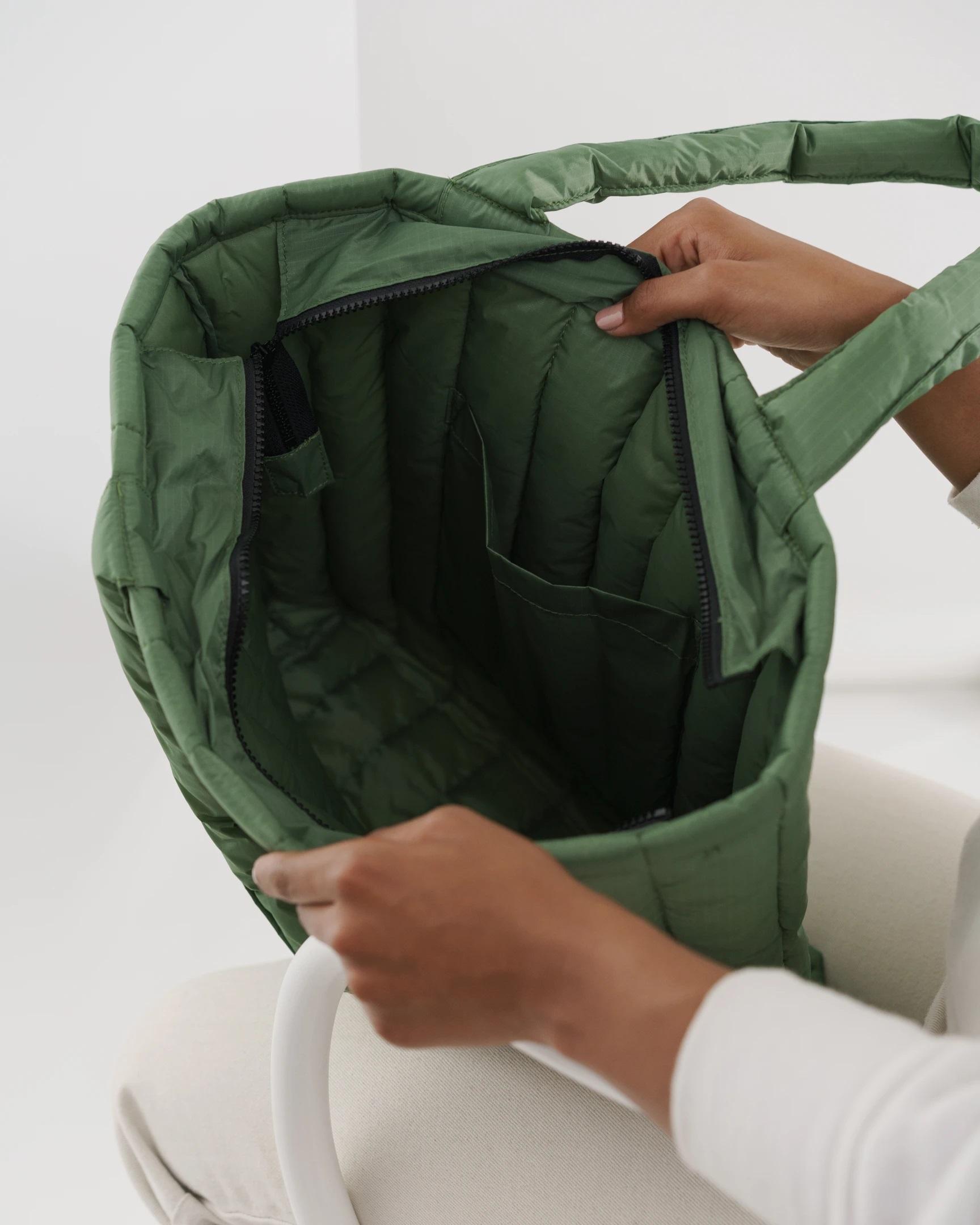 BAGGU - Puffy Tote Bag Eucalyptus