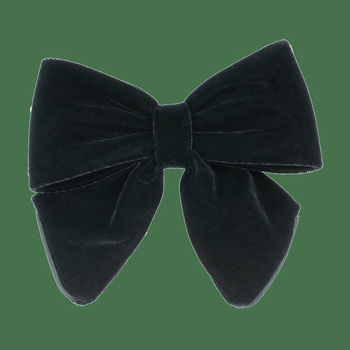 Velvet Bow Black