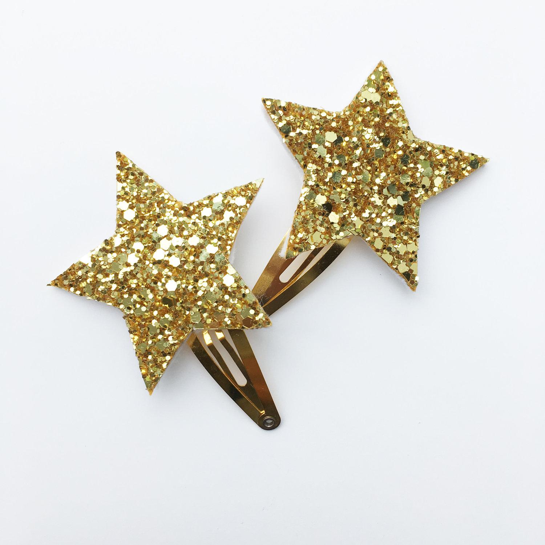 SPARKLE CHILD - Star hair clips