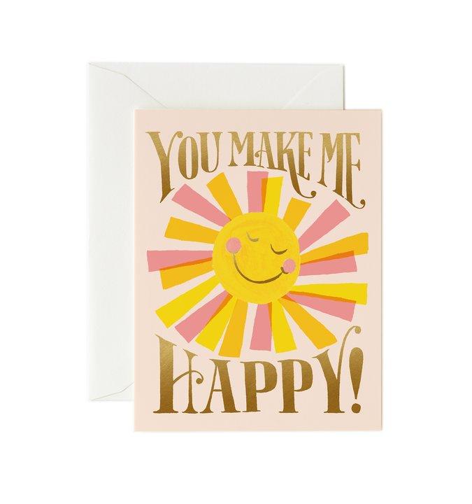 RIFLE - Kort, You Make Me Happy
