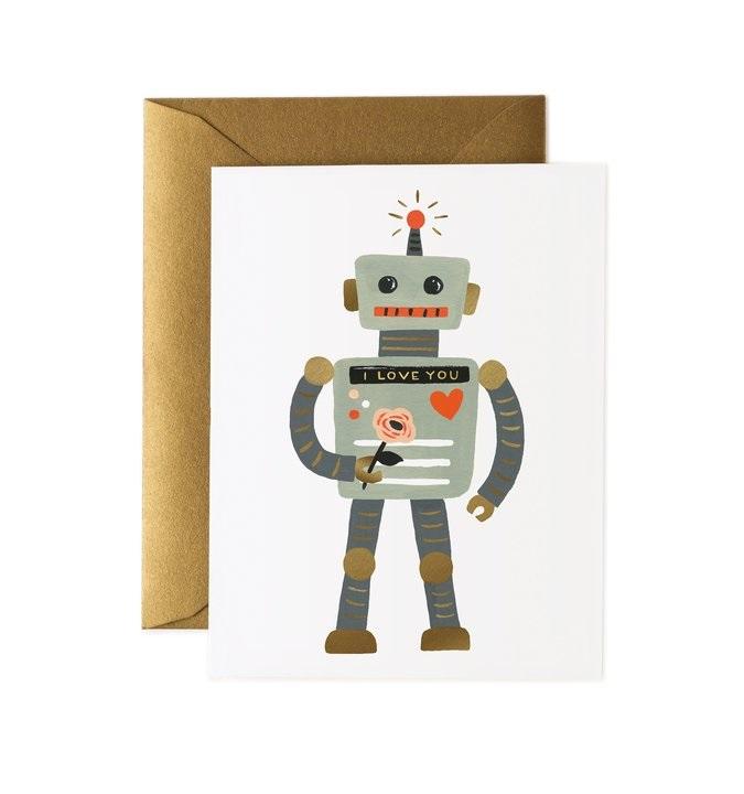 RIFLE - Kort, Robot Love