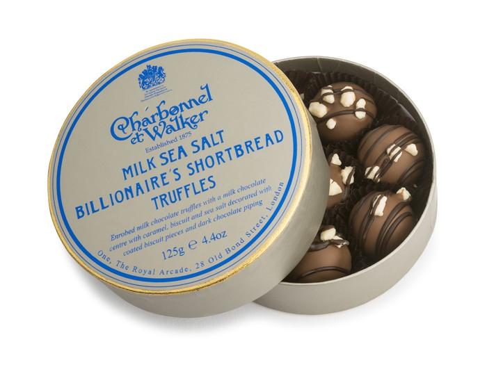 Charbonnel et Walker - Billionaire's Truffles, 125g/8 pieces