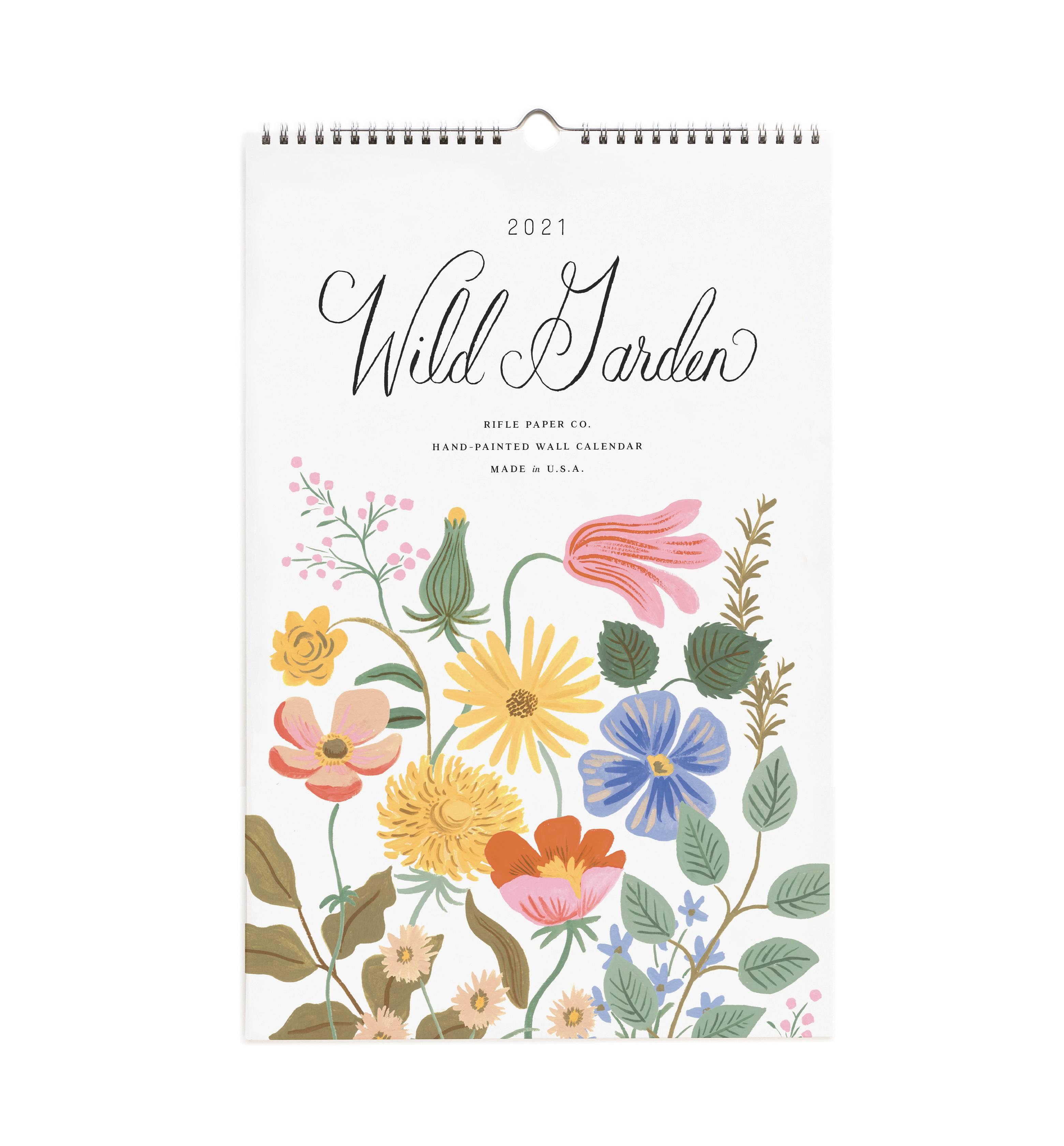 RIFLE - 2021 Wild Garden Calendar