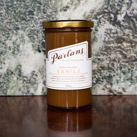 PÄRLANS - Karamellsaus på flaske 300g, Vanilje