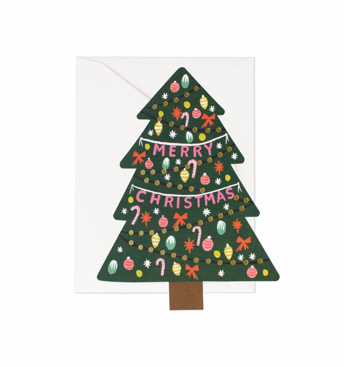 RIFLE - Christmas tree card