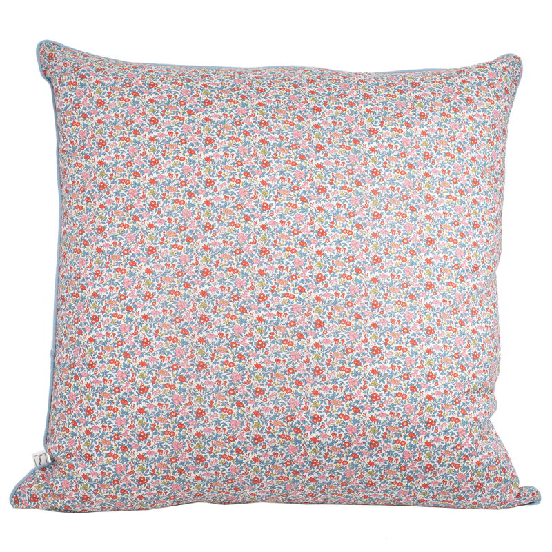 BON DEP - LIBERTY Pillow Cover Chamomile red 60 x 60 cm